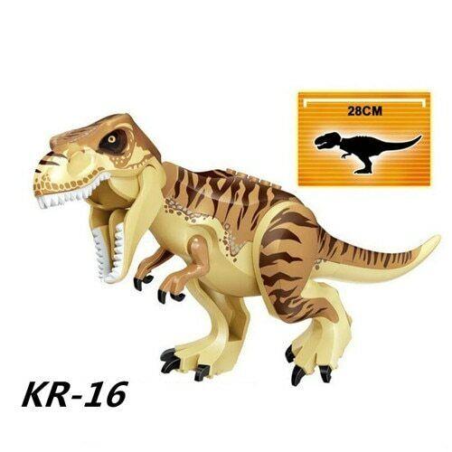 Lego Jurassic World compatibile Indominus bianco Indoraptor dinosauri