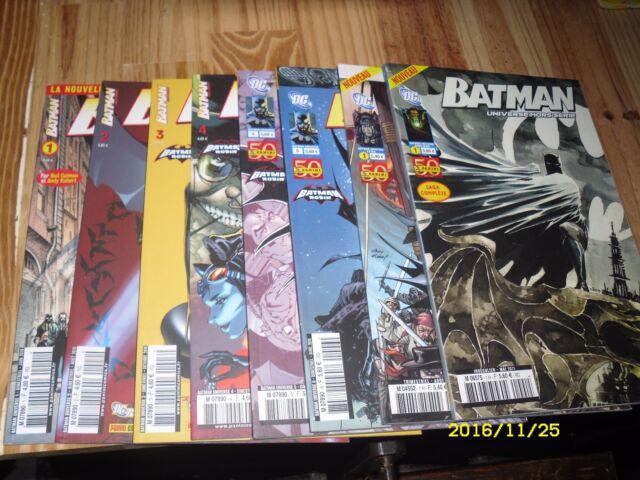 Lot Batman universe DC Panini comics