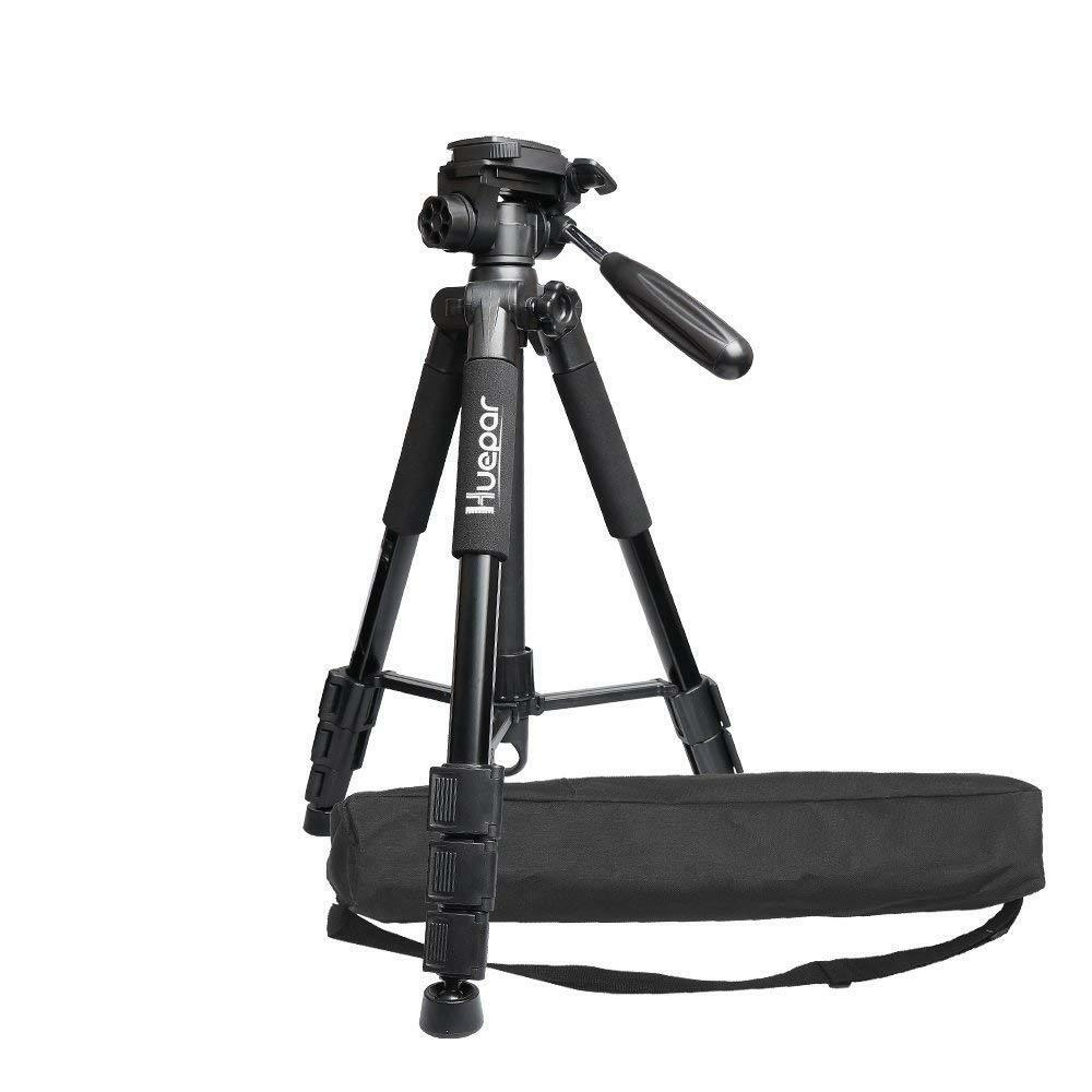 Huepar Multi-Funktions Stativ Kamera 56   143 cm Einstellbare   Verstellbar