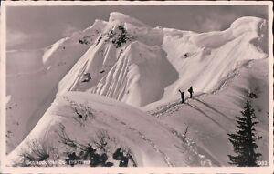1950s-Postcard-AK-Bayern-Allgau-Oberstdorf-Schlappolder-Eck-1937m