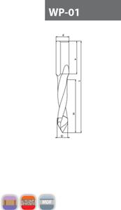 TCT Lip /& Spur Drills WN 02