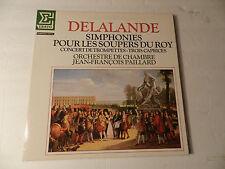 Delalande Simphonies Pour Les Soupers Du Roy Jean-François Paillard Erato LP