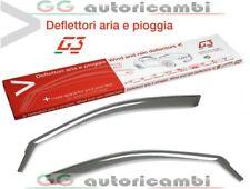 2x Deflettori DAria Compatibile con Citroen C1 Peugeot 107 Toyota AYGO 2005-2014 MK1 3 Porte In-Channel Antiturbo Per Auto Vetro Acrilico Anti Vento Guardia di Pioggia Sole Neve