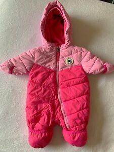 0-3 Months Baby Girls Snowsuit Outerwear