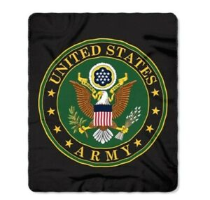 United-States-Army-Blanket-50-034-x-60-034-Emblem-Seal-Logo-Fleece-Throw-Armed-Forces