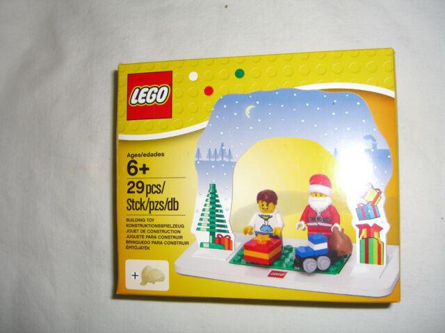 LEGO Weihnachtsmann-Set  Weihnachtsmann mit Kind Tischdekoration 850939 neu ovp
