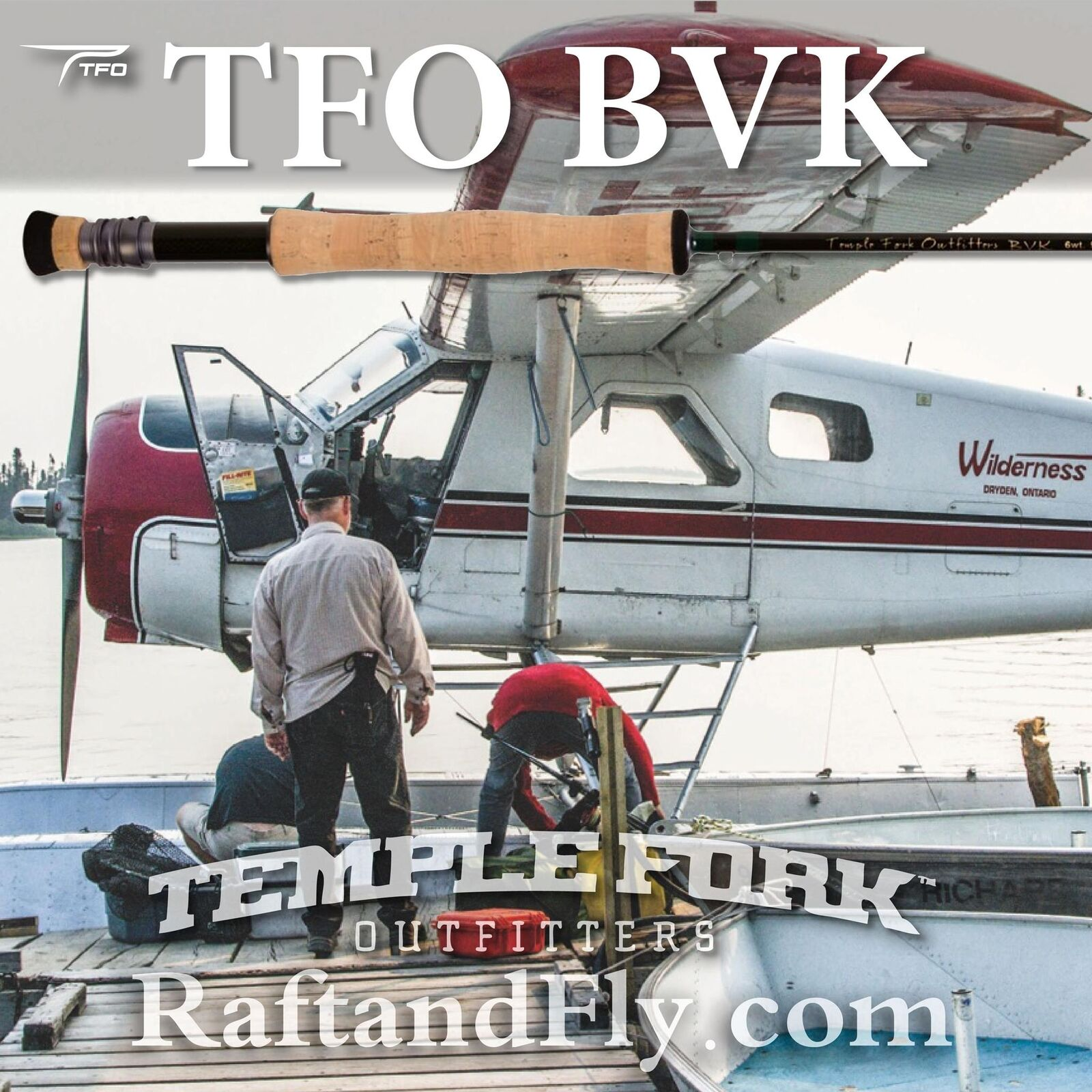 Tfo Bvk 6wt 9' 0  Volar Rod-Garantía De Por Vida-Envío Gratis