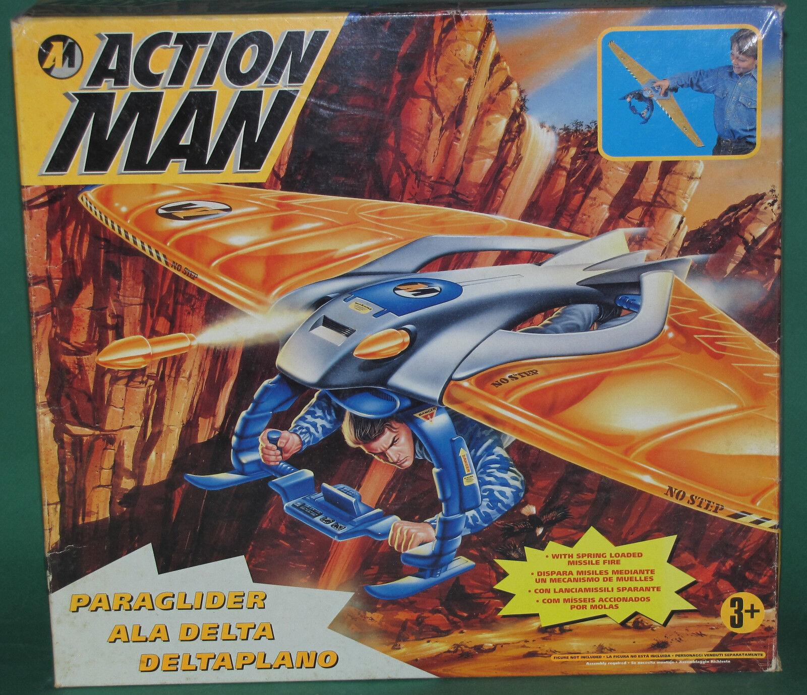 Rare Original Action Man Vehicle Paraglider  MISB Hasbro 1996