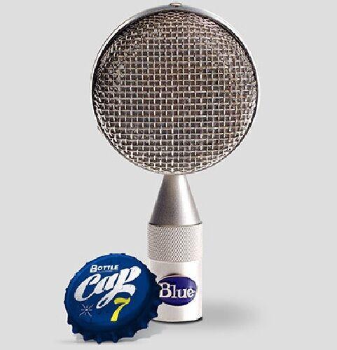 bluee Microphones B7 Bottle Cap - Capsule Only with Wood Box   Atlas Pro Audio