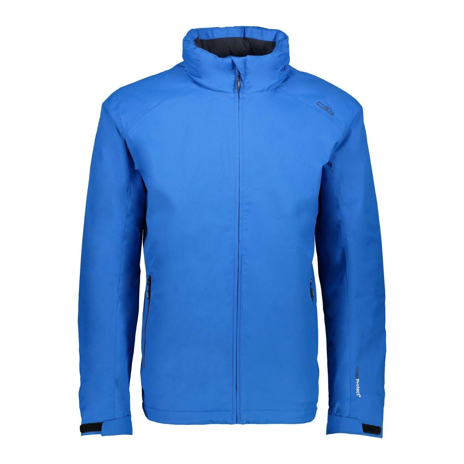 CMP Jacke 3Z31147 Man Fix Hood Jacket Outdoorjacke Regenjacke Wanderjacke blau