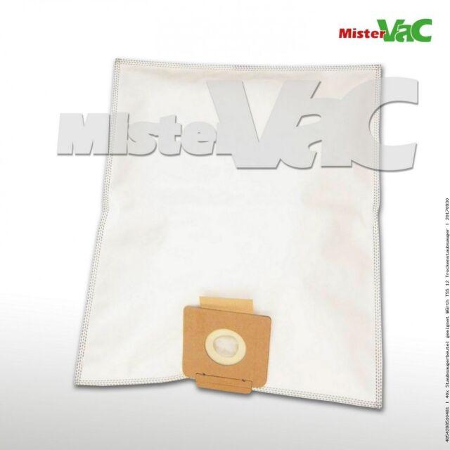 10x Staubsaugerbeutel Micro-vlies für Starmix ISP iPulse ARDL-1635 EWS