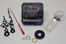 """Seiko Clock Movement Quartz Battery NEW For 1/4"""" Thick Dial With Hands SKP"""