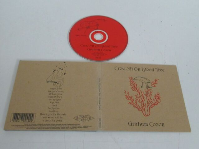 GRAHAM COXON/CROW SIT ON BLOOD TREE(TRANSCOPIC 0666017024424) CD ALBUM DIGIPAK
