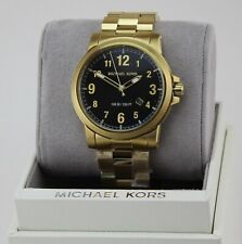9f18b1c8861e item 5 NEW AUTHENTIC MICHAEL KORS PAXTON GOLD BLACK MEN S MK8555 WATCH -NEW  AUTHENTIC MICHAEL KORS PAXTON GOLD BLACK MEN S MK8555 WATCH