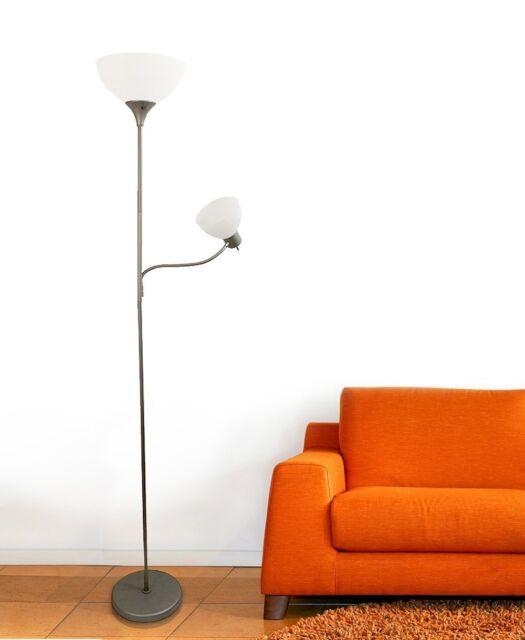 Brand Ikea Solleftea Floor Lamp Natural Home Decor Living Room Modern Light For Sale Online Ebay