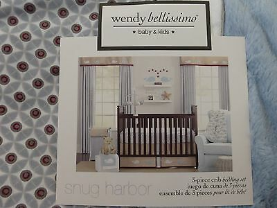 Wendy Bellissimo Honey Bee 3 Piece Crib Bedding Set