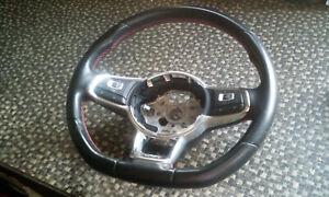 Lenkrad-Multifunktion-Leder-Lederlenkrad-VW-Polo-6C-6R-GTI-Bj-15-6C0419091-36