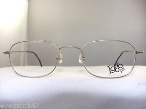 ace4f6f2c862 Image is loading SMALL-SILVER-SQUARE-LIGHTWEIGHT-EYEGLASS-FRAME