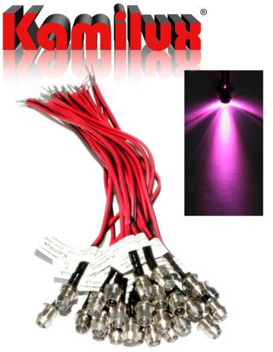 50x Edelstahl Mini-Strahler LED Lichtpunkte 12V IP68 Sternenhimmel /& Netzgerät