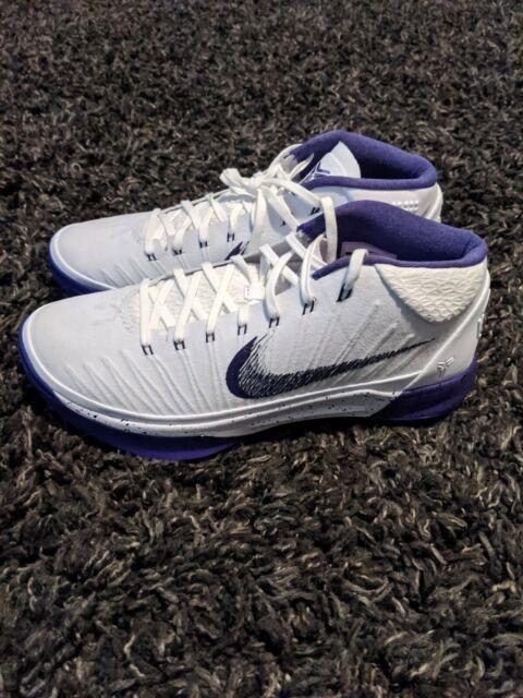 kobe shoes white and purple