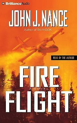 Fire Flight by John J. Nance (2015, 5 CDs Abridged) NEW