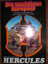 Prospekt Sales Brochure Hercules Mokick Sport Bike SB 1 K 105 X K 50 RX 50 ccm