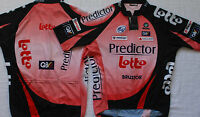 Lotto Predictor Team Cycling Jersey Small Free Davitamon Lotto Skull Cap