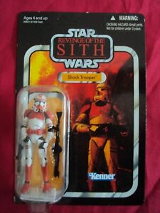 STAR WARS CLONE SHOCK TROOPER VINTAGE COLLECTION VC110 ROTS HASBRO UNPUNCHED