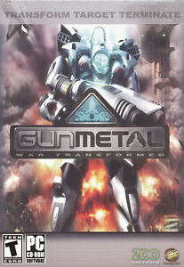 GUN-METAL-GunMetal-War-Transformed-Strategy-PC-Game-NEW