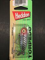 Heddon Tiny Torpedo 1 7/8 1/4oz Silver Shore Minnow X0360xrs