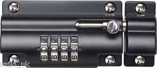 Sterling Combinazione Codice Lucchetto Porta Scorrevole Bullone per cancelli porte repelle - 110mm