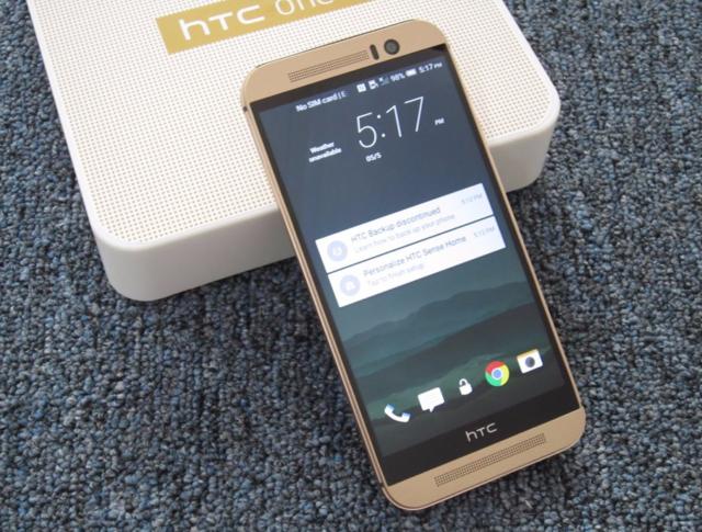 HTC One M9 32GB Unlocked Silver Smartphone
