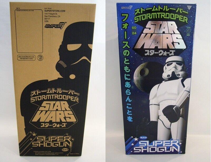 Star Wars Stormtrooper Super Shogun Action Figure SUPER 7 BRAND NEW 24  60cm