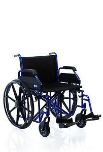 sedia a rotelle bariatrica extra larga - carrozzina pieghevole per