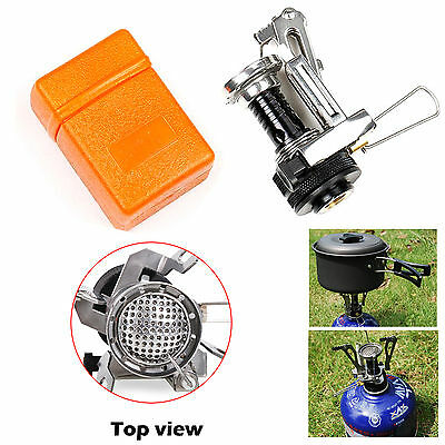 Mini Cooker Ultralight Backpacking Stove Gas Burner For Outdoor Camping Picnic