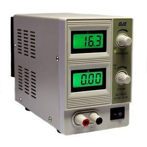 Regelbares-DC-Labornetzgeraet-0-15V-2A-Labornetzteil-Netzteil-Netzgeraet-Trafo-30W