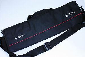 Japanese Tojiro Soft Chef s Knife Bag Carry Case Black F-355 ... 68455c5b16692