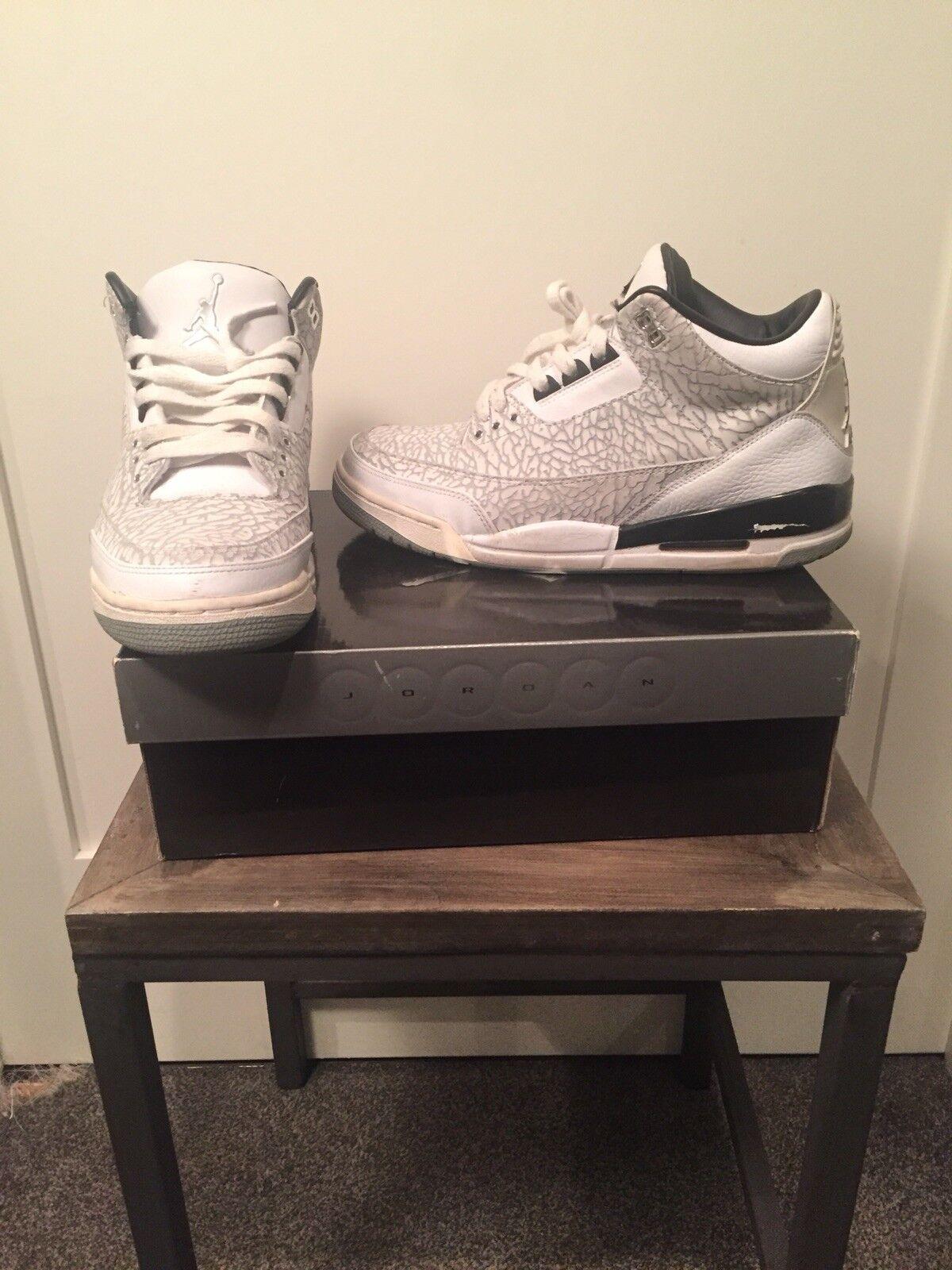 2018 Air Jordan 3 el retro Blanco Flip comodo el 3 modelo mas vendido de la marca 8fe1f2