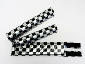 FLITE old school BMX foam padset pads BLACK USA MADE!