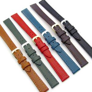 6674889e52aac CONDOR Ladies Flat Lizard Grain Leather Watch Strap 177R 10mm 12mm ...