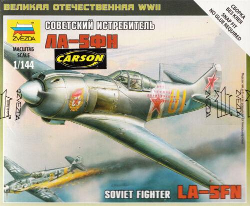 1:144 zv6255// ZVESDA Lavochkin La-5FN TOPP MODELL