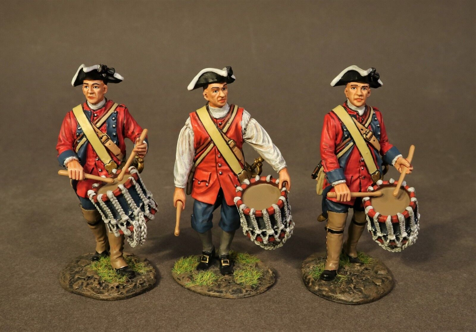 JOHN JENKINS RAID ON ST. FRANCIS RRB60-09D 60TH ROYAL AMERICAN 3 DRUMMER SET MIB