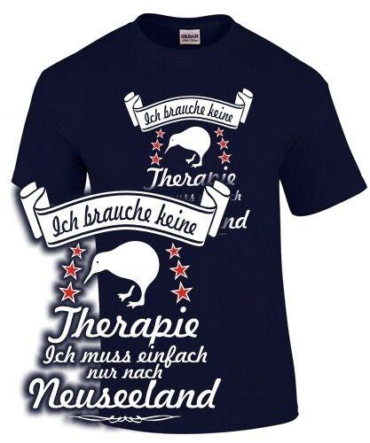 La Nouvelle-Zélande T-shirt Je n/'ai pas besoin de traitement Vacances Pavillon Kiwi sort drôle