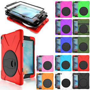 Heavy-Duty-Shockproof-Hybrid-360-Stand-Rugged-Case-Cover-For-iPad-Mini-1-2-3-4