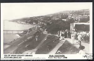 Isle-of-Wight-Postcard-Old-Ventnor-From-The-East-c-1908-Pamlin-Print-A3933