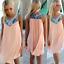Womens-Summer-Casual-Beach-Wear-Bikini-Cover-Up-Boho-Swing-Sun-Mini-Short-Dress