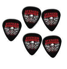 Avenged Sevenfold Print Guitar Pick Plectrum Picks necklace Badge keyring #3