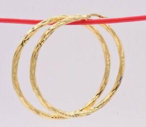 2-3-4-034-70mm-Twisted-Diamond-Cut-Hoop-Earrings-14K-Yellow-Gold-Clad-Silver-925