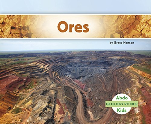 Geology Rocks Ores  BOOK NEW