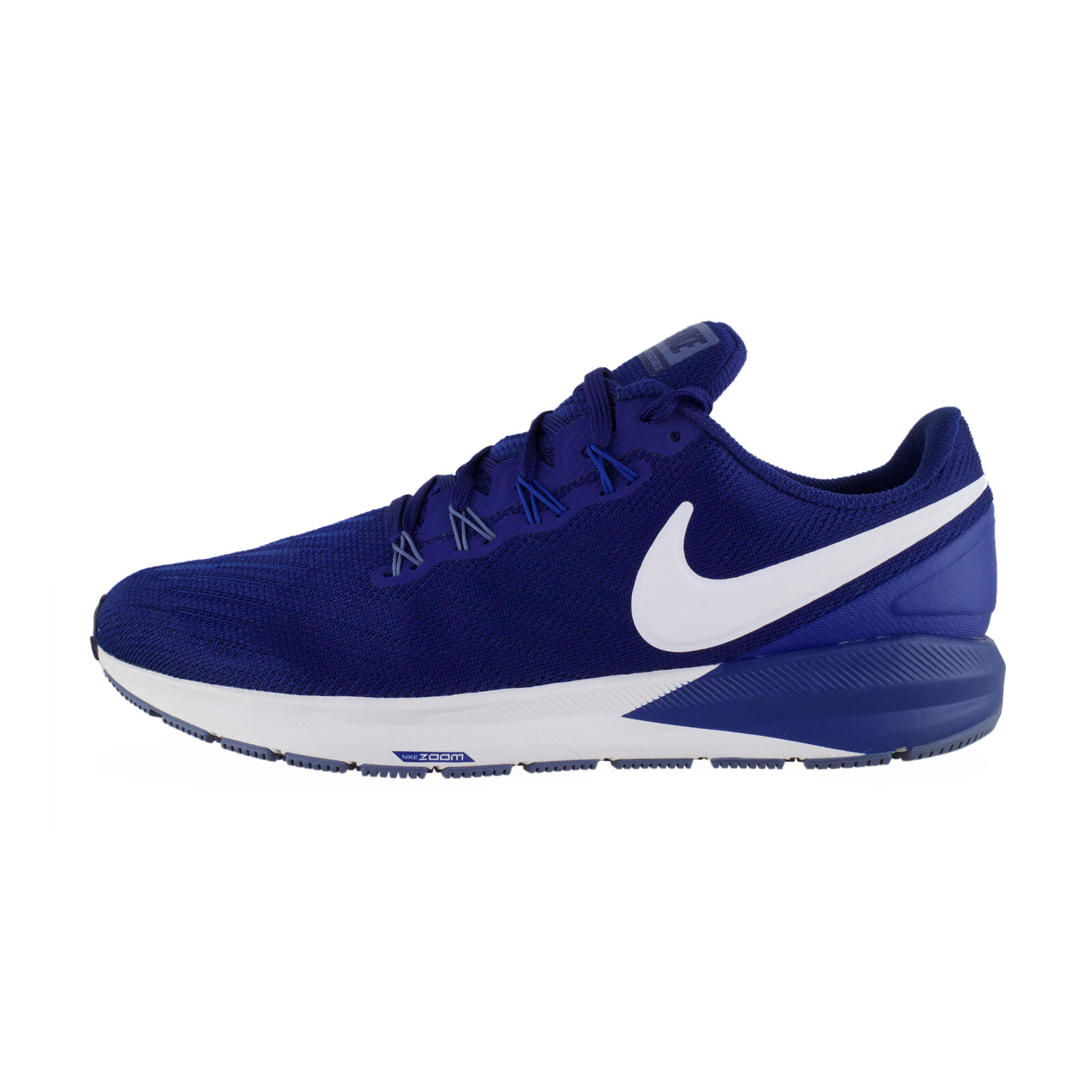 Nike Air zoom structure 22 azul blancoo estable de ejecución zapatos aa1636-404